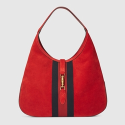 Gucci - Jackie Soft Suede Hobo Bag