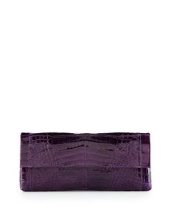 Nancy Gonzalez - Back-Pocket Crocodile Clutch Bag