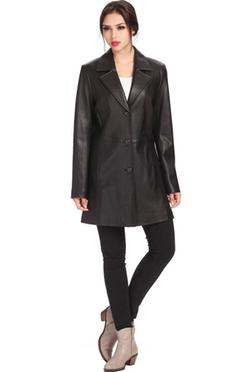 BGSD - Danielle New Zealand Lambskin Leather Coat