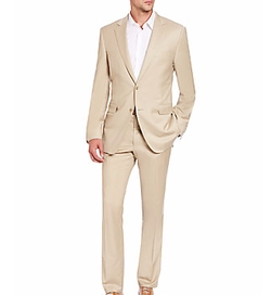 Saks Fifth Avenue Collection - Basic Wool-Blend Suit