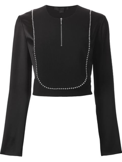 Alexander Wang - Ballchain Trim Top