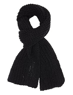 Charlotte Russe - Chunky Ribbed Knit Scarf