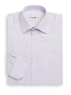 Yves Saint Laurent  - Modern-Fit Cotton Dress Shirt