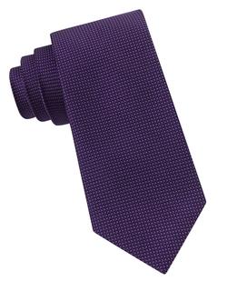 Calvin Klein  - Silk Dot Print Tie