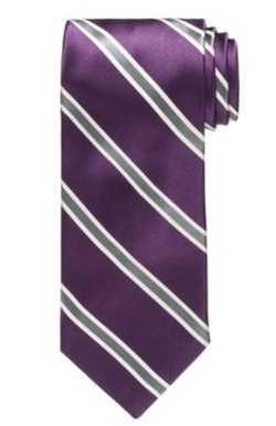 Signature  - Satin Stripe Tie