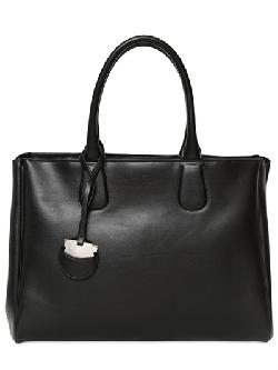 Salvatore Ferragamo - Large Nolita Brushed Leather Top Handle