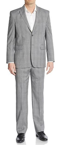 Yves Saint Laurent  - Modern-Fit Plaid Wool Suit