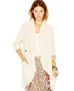Free People - Big Chill Hooded Draped Cardigan