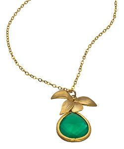 Alvina Abramova  - Green Prescilla Necklace