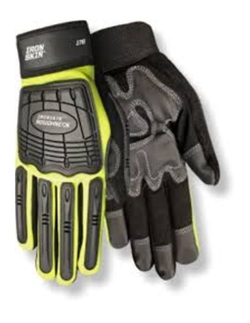 Red Steer - Mechanics Style Impact Absorbing Gloves