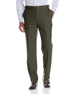 Louis Raphael - Flat Front Hidden Extension Dress Pants