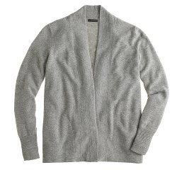 J.Crew Collection  - Cashmere Long Open Cardigan Sweater