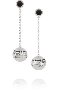 Kilian - Studio 54 Rhodium-Plated Scented Earrings