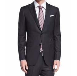 Ermenegildo Zegna - Textured Solid Two-Piece Suit