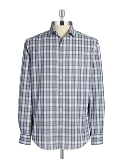 Perry Ellis - Plaid Sportshirt