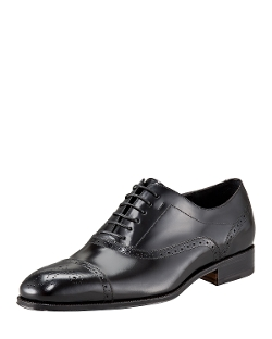Salvatore Ferragamo - Caesy Cap-Toe Oxford Shoes