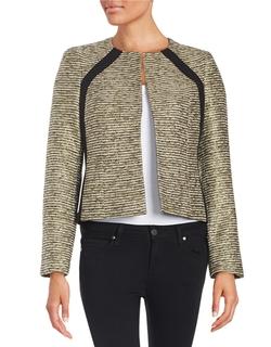 Nipon Boutique - Metallic Tweed Blazer