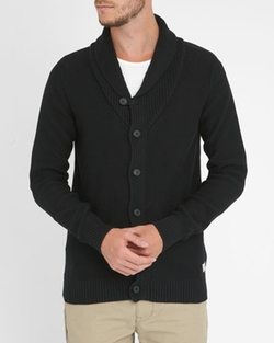 Selected - SHFred Shawl Collar Buttons Cardigan