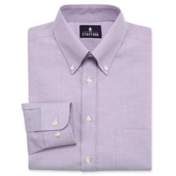 Stafford - Travel Wrinkle-Free Oxford Dress Shirt
