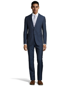 Armani - Stripe Virgin Wool M-Line Suit
