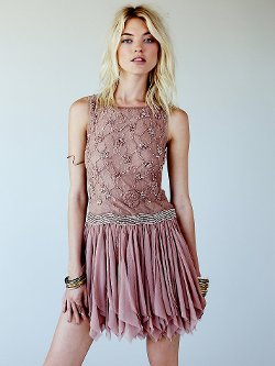 Free People - Samantha Embellished Dress