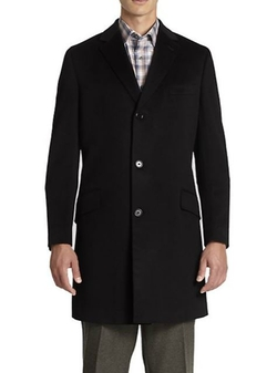 Saks Fifth Avenue Collection  - Wool and Cashmere Coat