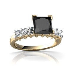 Jewels For Me - Diamond Square Engagement Ring