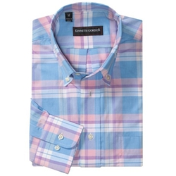 Kenneth Gordon  - Cotton Plaid Shirt