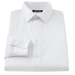 Apt. 9 - Slim-Fit Spread-Collar Dress Shirt