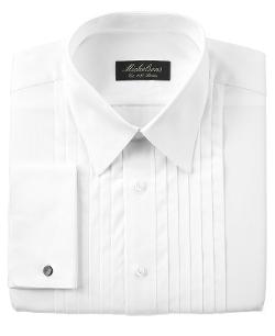 Michelsons Of London - French Cuff Tuxedo Shirt
