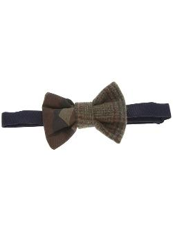 Vanities  - Camouflage And Check Bow Tie