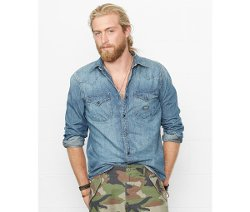 Denim & Supply Ralph Lauren - Denim Western Shirt