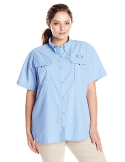 Columbia - Plus-Size Bahama Short Sleeve Shirt