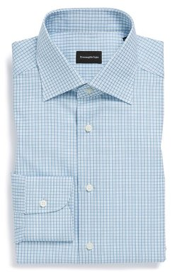 Ermenegildo Zegna - Regular Fit Check Dress Shirt