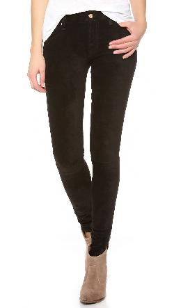 7 For All Mankind - The Sueded Skinny Jeans
