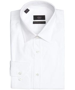 Alara - Cotton Point Collar Dress Shirt