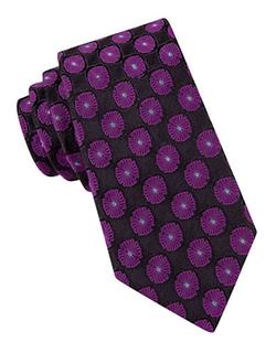 Ted Baker -  Floral-Print Silk Tie