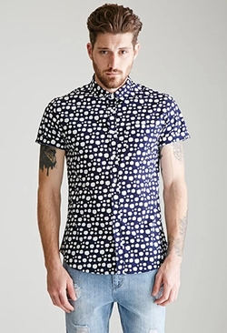 21 Men - Dalmatian Dotted Shirt