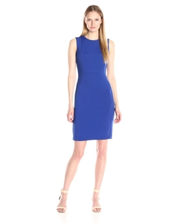 Calvin Klein - Seamed Sleeveless Sheath Dress