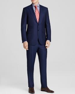 Canali - Birdseye Classic Fit Suit