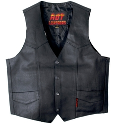 Hot Leathers - Cowhide Motorcycle Leather Vest