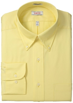 Izod - Regular Fit Twill Solid Shirt