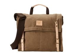 Will Leather Goods - Wax Canvas Messenger Bag