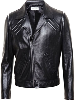 Saint Laurent - Zipped Biker Jacket