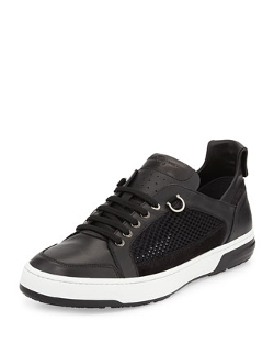 Salvatore Ferragamo - Nets Low-Top Sneakers