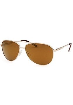 Timberland - Aviator Gold-Tone Sunglasses
