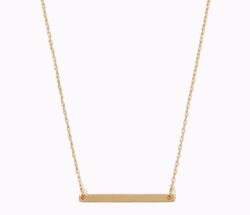 Charming Charlie - Mini Bar Pendant Necklace