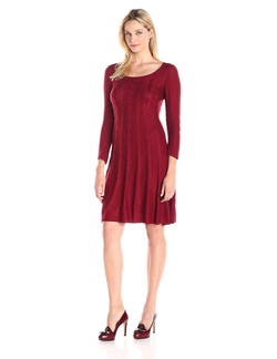 Kasper - A-Line Sweater Dress