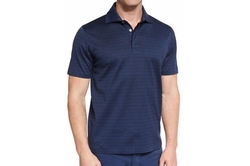 Ermenegildo Zegna - Blocked-Stripe Short-Sleeve Polo Shirt