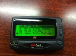 New Motorola - Wireless Pager